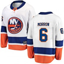 New York Islanders Youth Ken Morrow Fanatics Branded Breakaway White Away Jersey